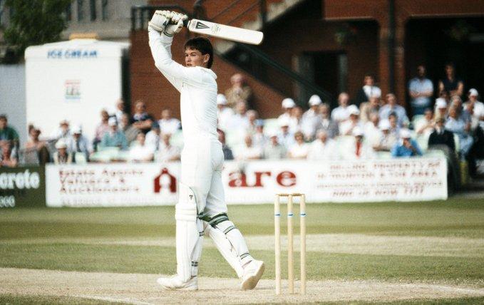 Happy Birthday Graeme Hick  65 Tests, 3383 Runs, 6 100s 120 ODIs, 3846 Runs, 5 100s 526 FC, 41112 Runs, 136 100s