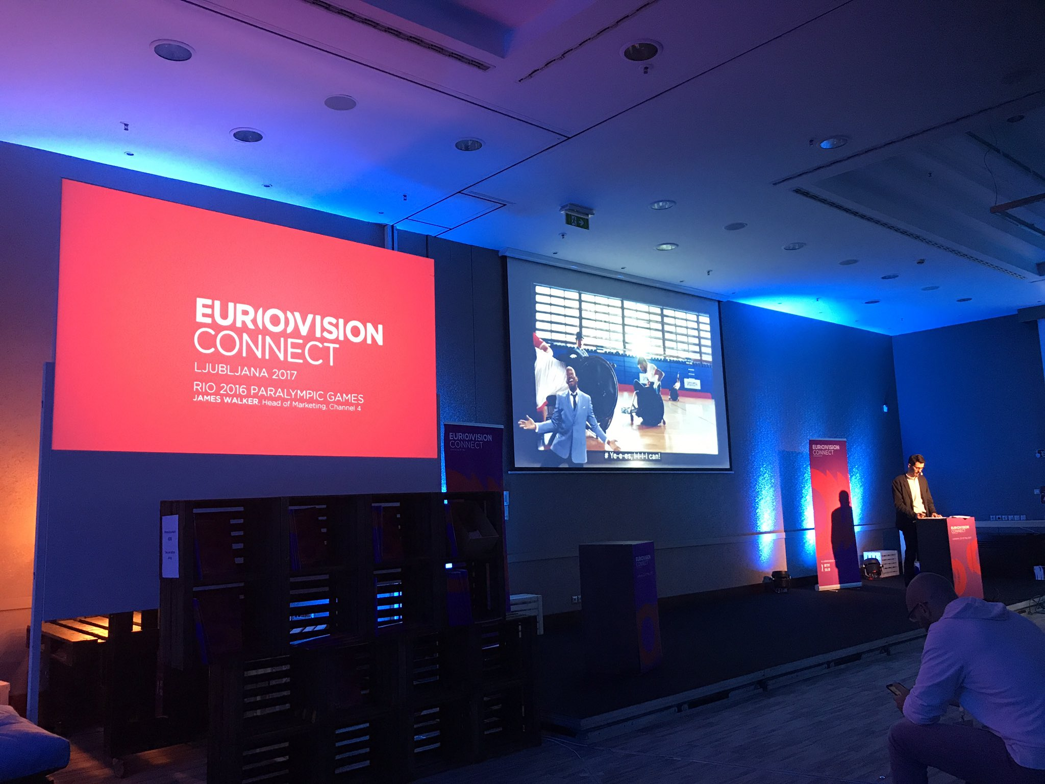 Speaking at #EurovisionConnect in Slovenia today and now hearing from our friends from @Channel4 https://t.co/GFyE21282g