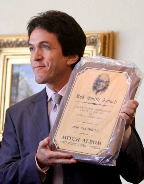 Happy Birthday Mitch Albom, who turns 59 yrs old today - one of my Favorite Writers!