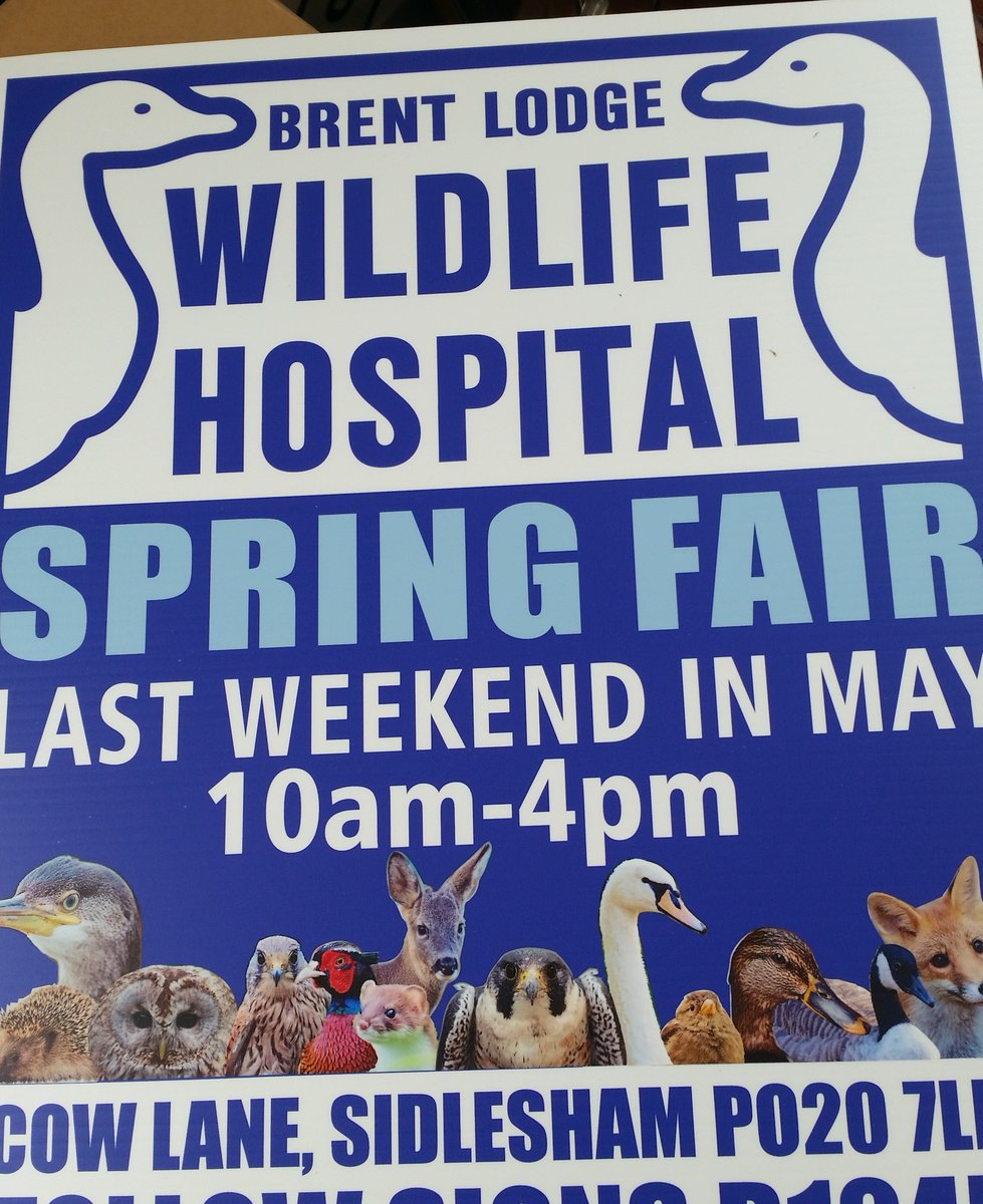 test Twitter Media - Thanks to our friends at The Sign Shop in Chichester for printing these incredible road signs for our fair this weekend. #wildlife https://t.co/ZFDqXhdIEV