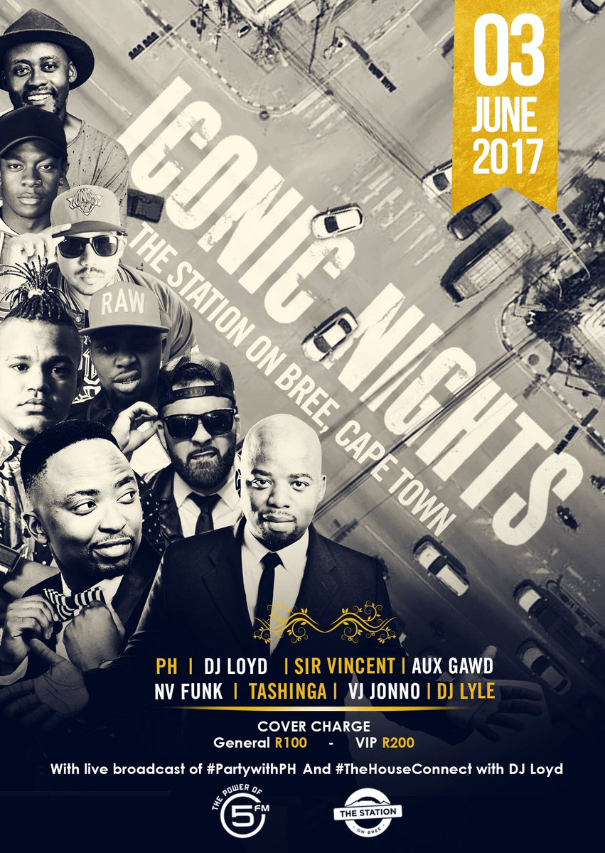 SATURDAY 3 JUNE The Station on Bree #IconicNights