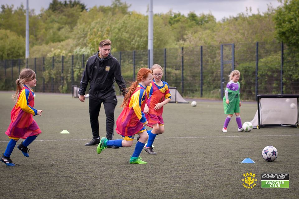 Fantastic PARTNER CLUB day on Sunday at Tass Thistle in Ayrshire. We were delighted to welcome Girls Teams for the first time #neverfollow <br>http://pic.twitter.com/NKvFzqHTKw
