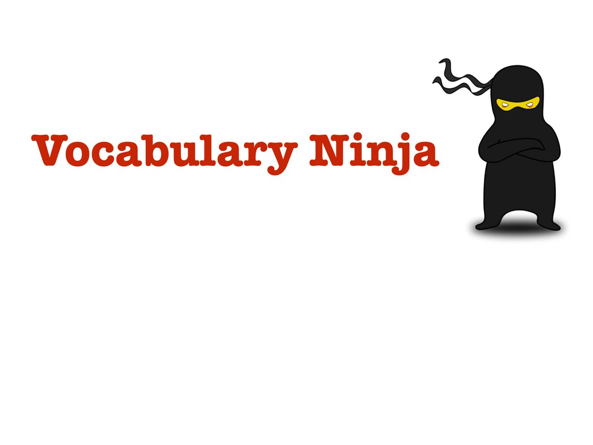 Vocabulary Ninja On Twitter A Special Synonym Resource Goes Live Tonight At 630pm Let The Know Your Thoughts Useful Notuseful