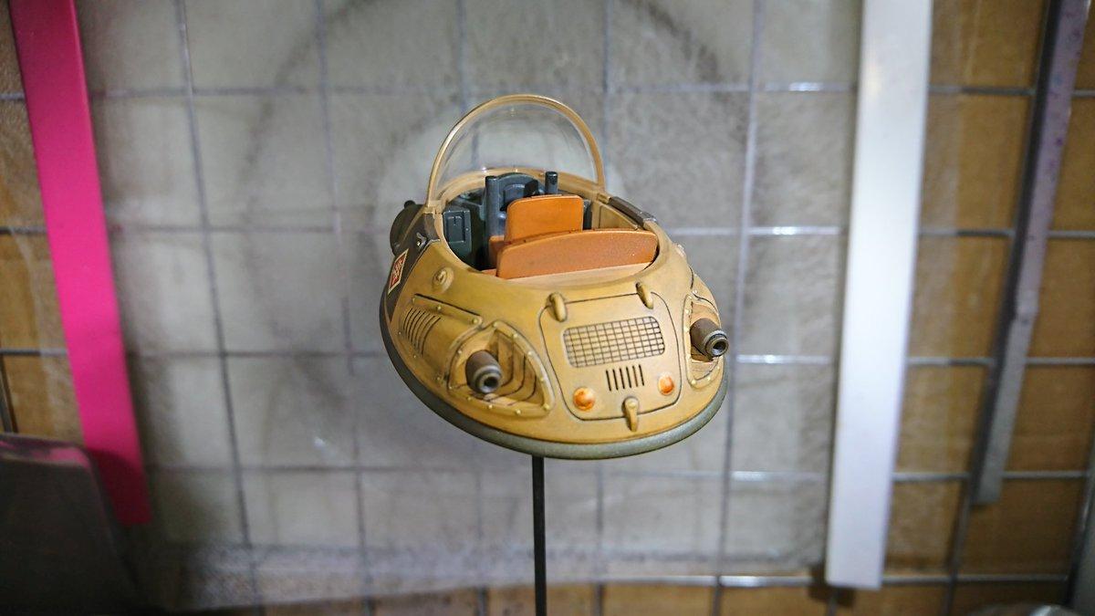 牛魔王の車 だけ完成✨ウェザリングしたけどダメージ入れても良かったかなー まあ自分なりに上手く出来たか(*^^*) ブルマ👯、悟空🐵、ウーロン🐷も塗装して乗せないとね