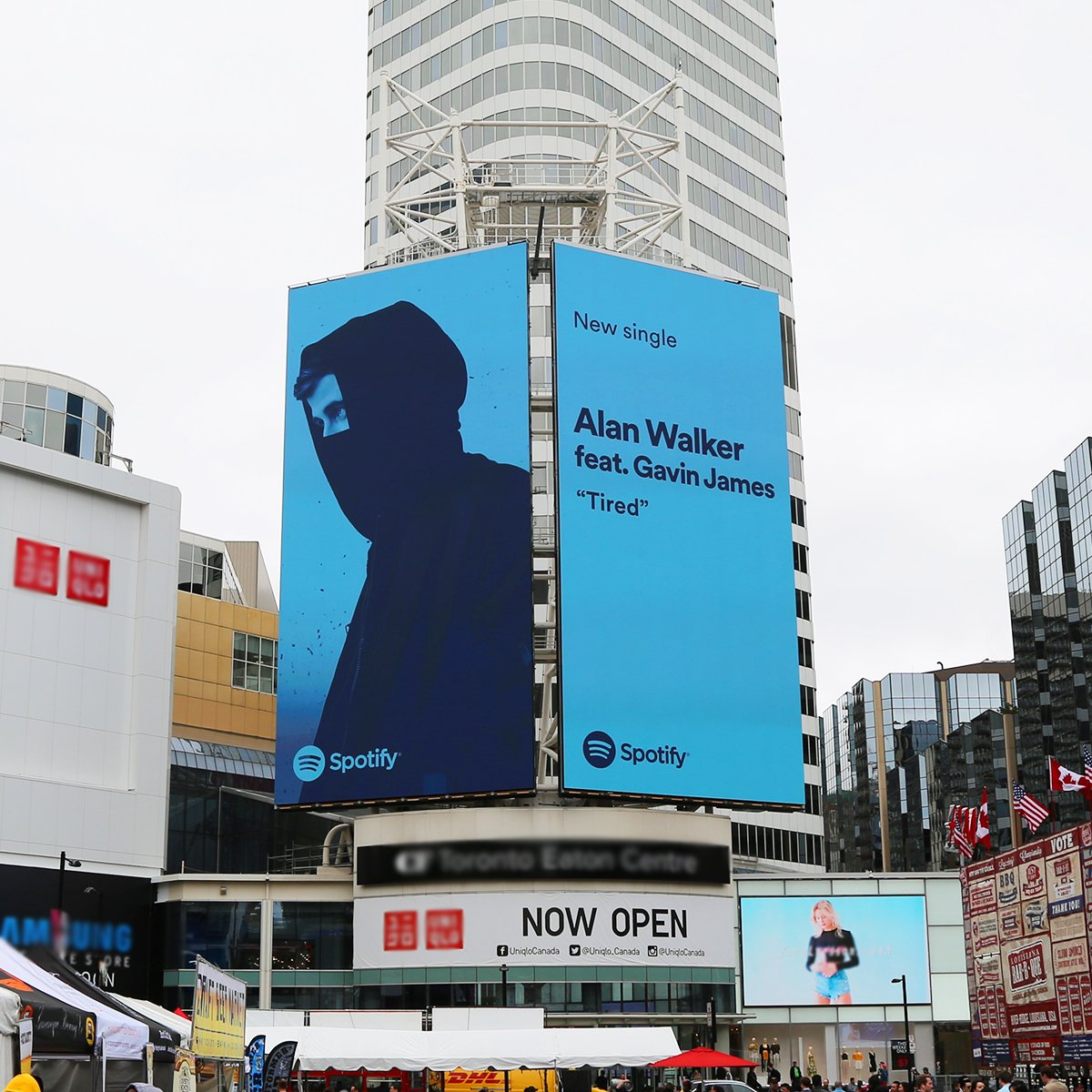 Thanks for the support, @SpotifyCanada 🙌🏼🔥