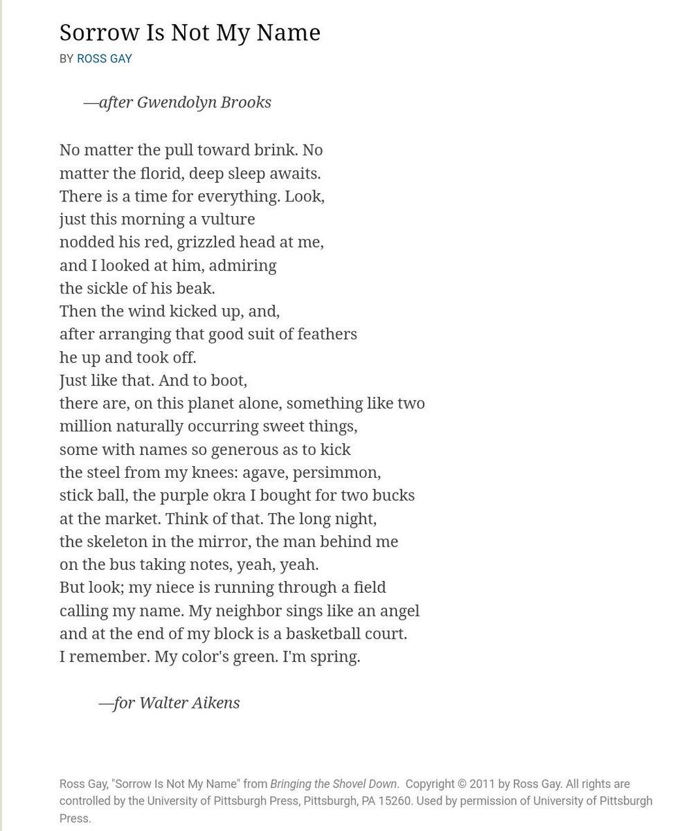 Sorrow Poems 5