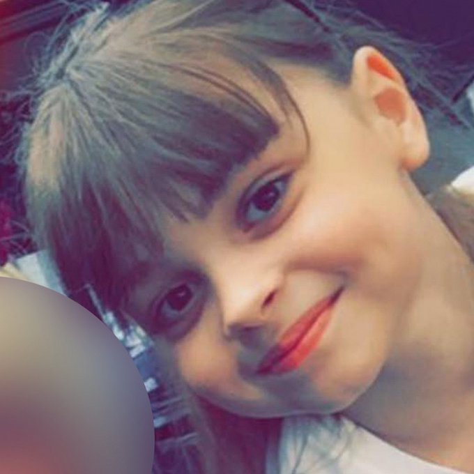 Eight-year-old Saffie Rose Roussos from Leyland was killed in the #ManchesterAttack https://t.co/vhUo44cJeI