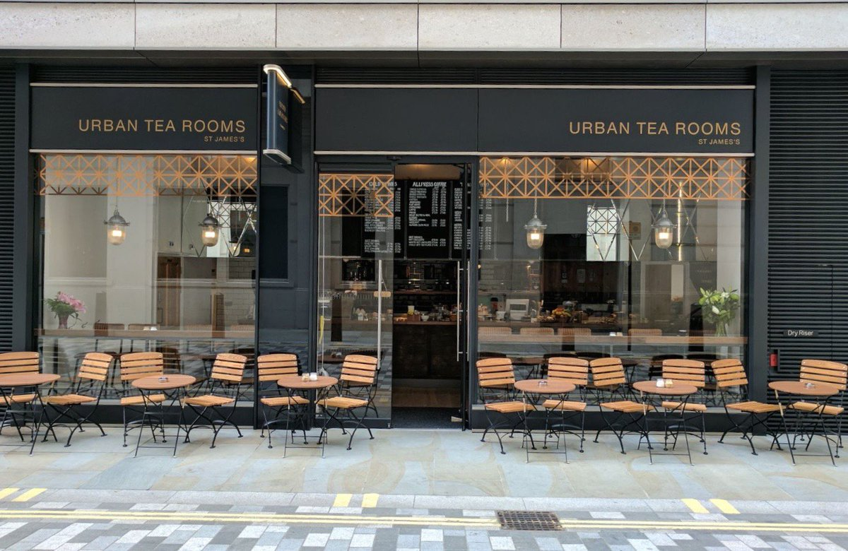Urban Tea Rooms St James