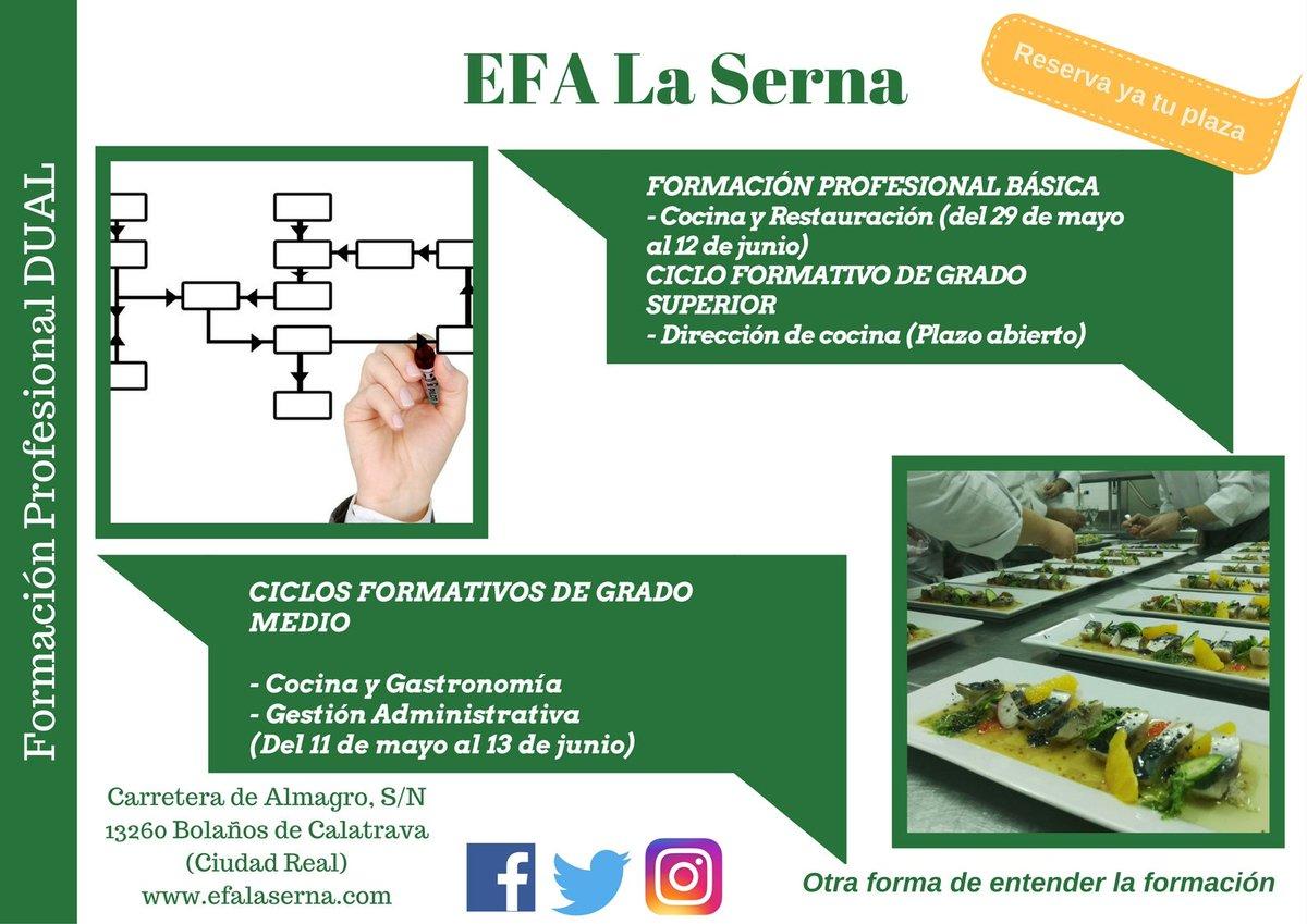 Efa La Serna On Twitter Reserva Ya Tu Plaza Fp Fpdual