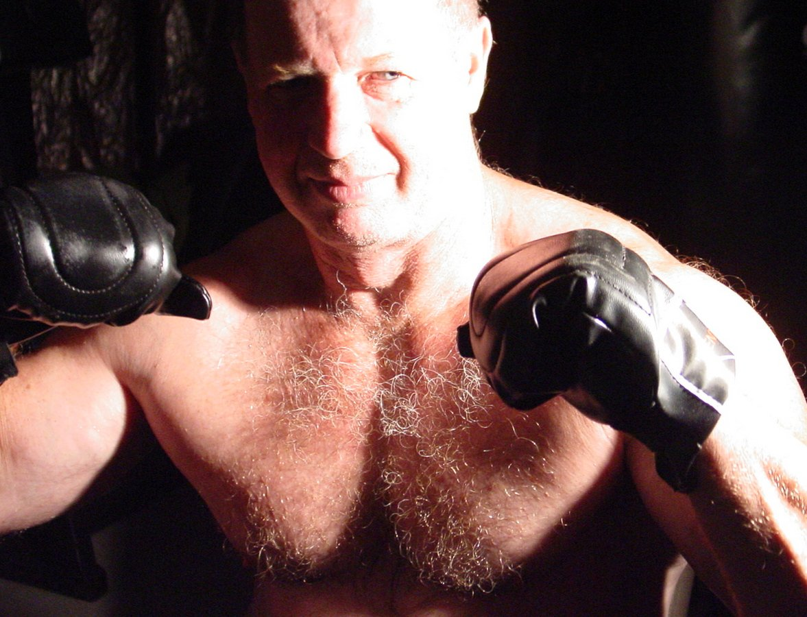 SAY HI to MMAbear at  http:// GLOBALFIGHT.com  &nbsp;   #mma #fighter #cagefighter #bear #daddy #older #seniors #grayhair #silverfox #silverdaddie #man<br>http://pic.twitter.com/RZsH97JZ7Y