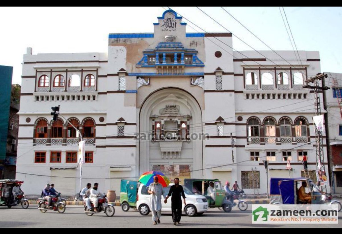 test Twitter Media - PunjabSpeed:Once this was Majestic and beautiful Lakshami building and now after Orange Train Project of Shahbaz Sharif #SaveLahoreHeritage https://t.co/oWtMcet5s8