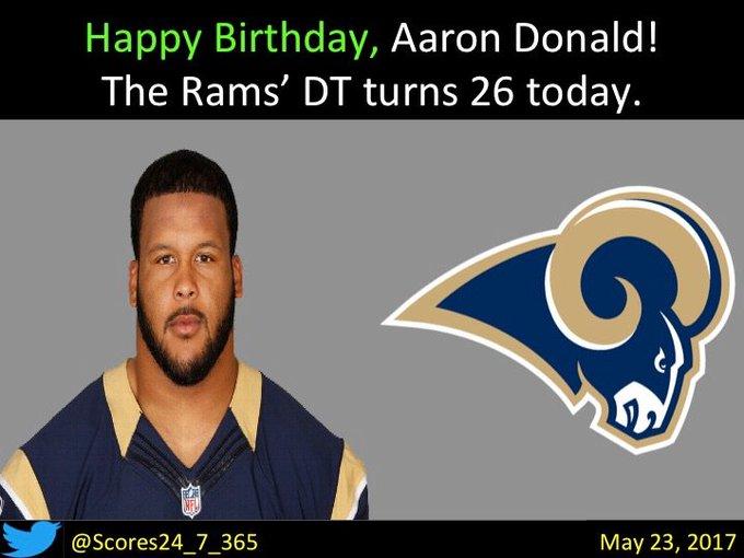 happy birthday Aaron Donald!