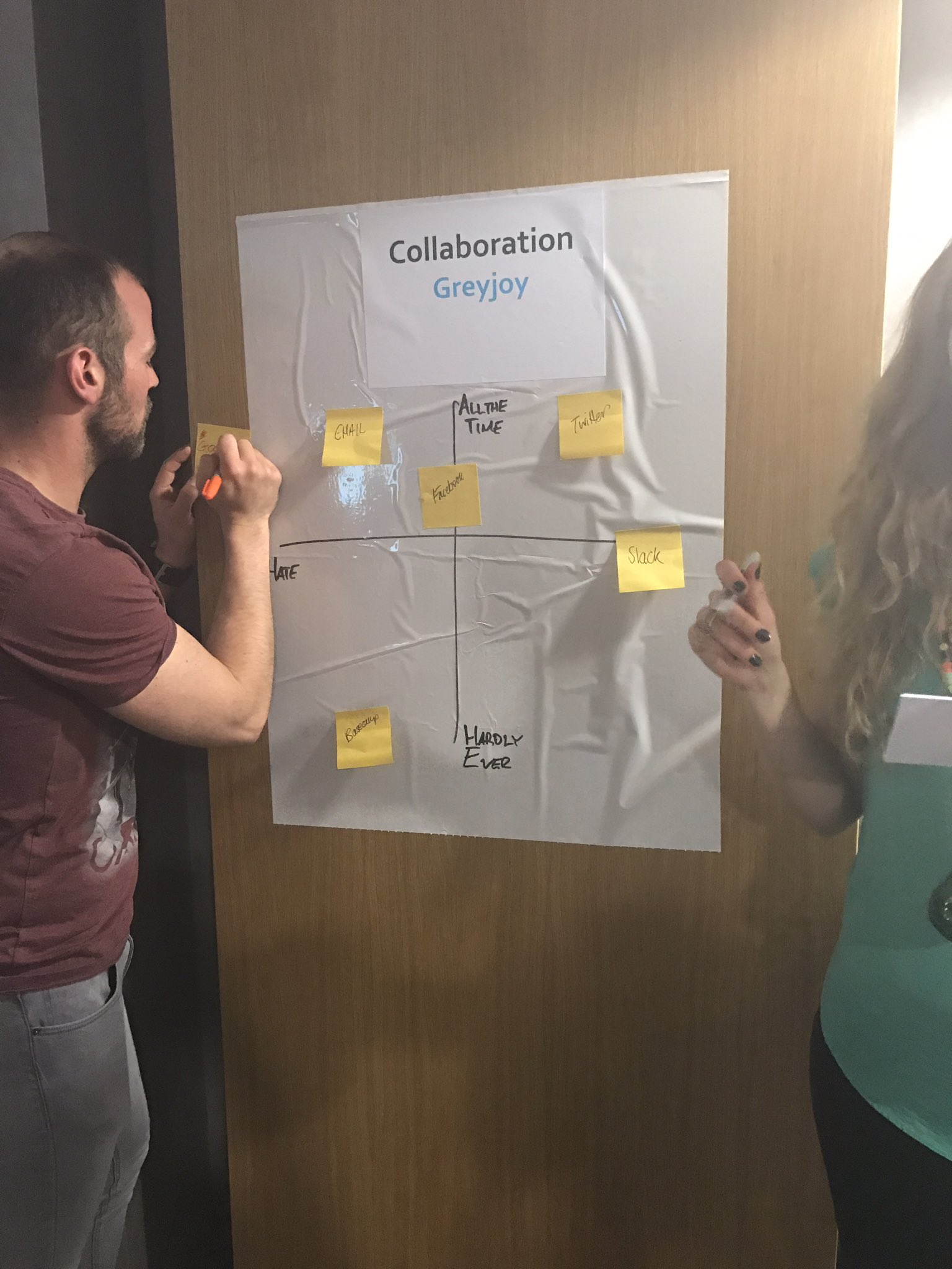 Great networking game at #CharityMeetup - which tools do you love for collaboration? #sm4np https://t.co/gSJar2M2mU