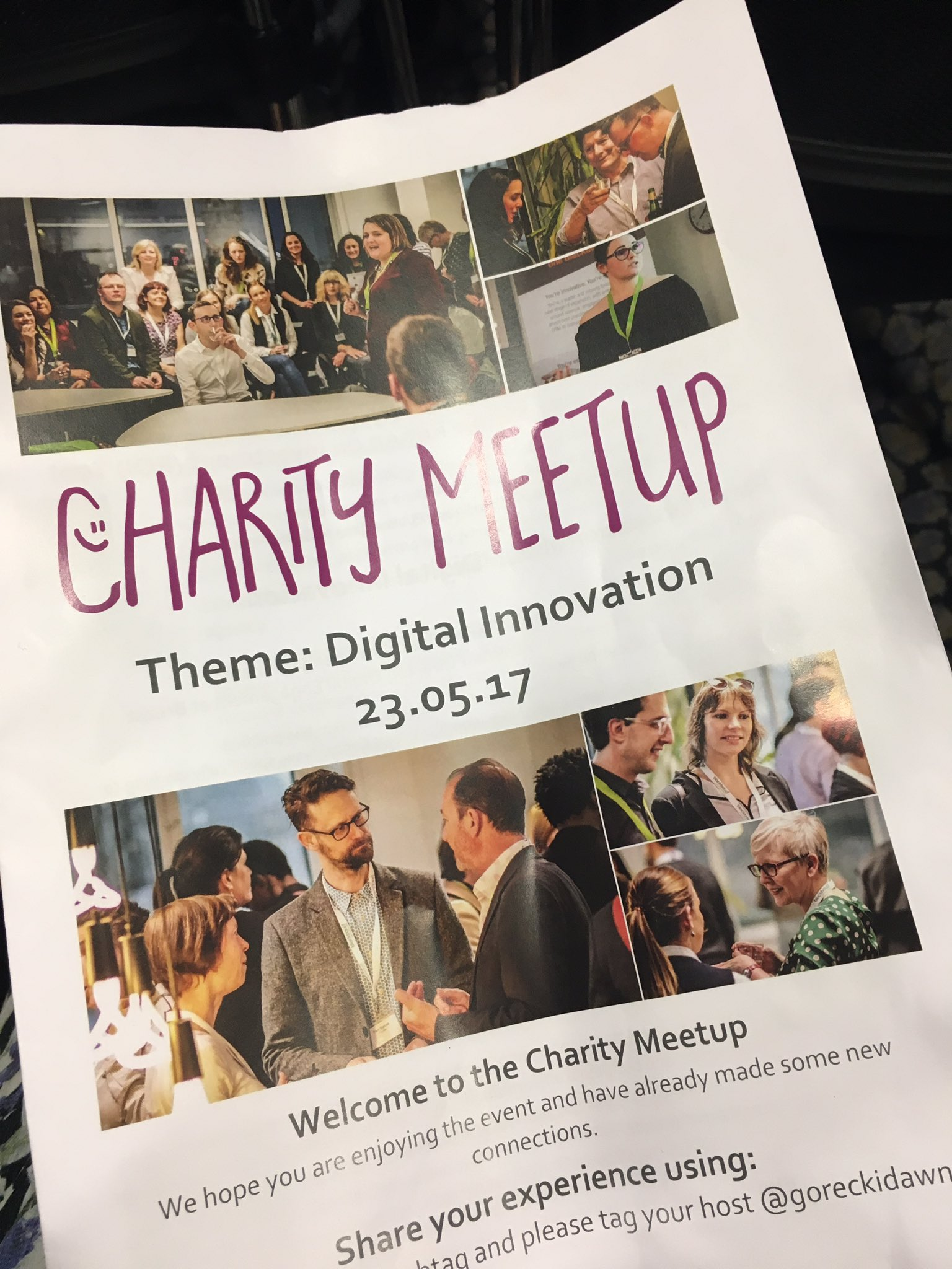 Already learnt about some fab digital tools. Another great #charitymeetup https://t.co/qhA1IcPsSn