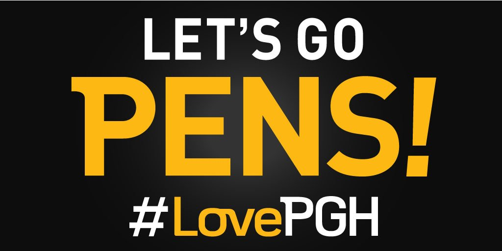Game six, let's go. RT for a chance 2 win a #Pens prize pack including an autographed Bonino puck! #LovePGH https://t.co/u2N4813YbY