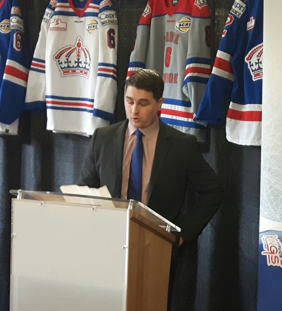 A happy birthday to the Head Coach of the Prince George Spruce Kings Adam Maglio (