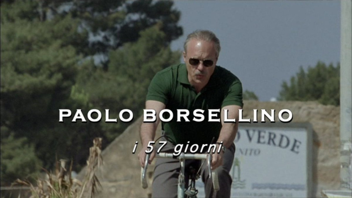 'Paolo Borsellino, i 57 giorni' con #LucaZingaretti, ora su #Rai3. #Pa...