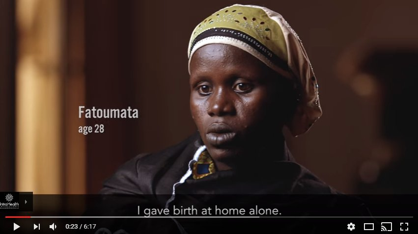 A1: We use #HerWords (& her voice) in storytelling whenever possible. Hear Fatoumata tell HER story. #FistulaDay https://t.co/9I9OvYumcz https://t.co/iWPKFGR15k
