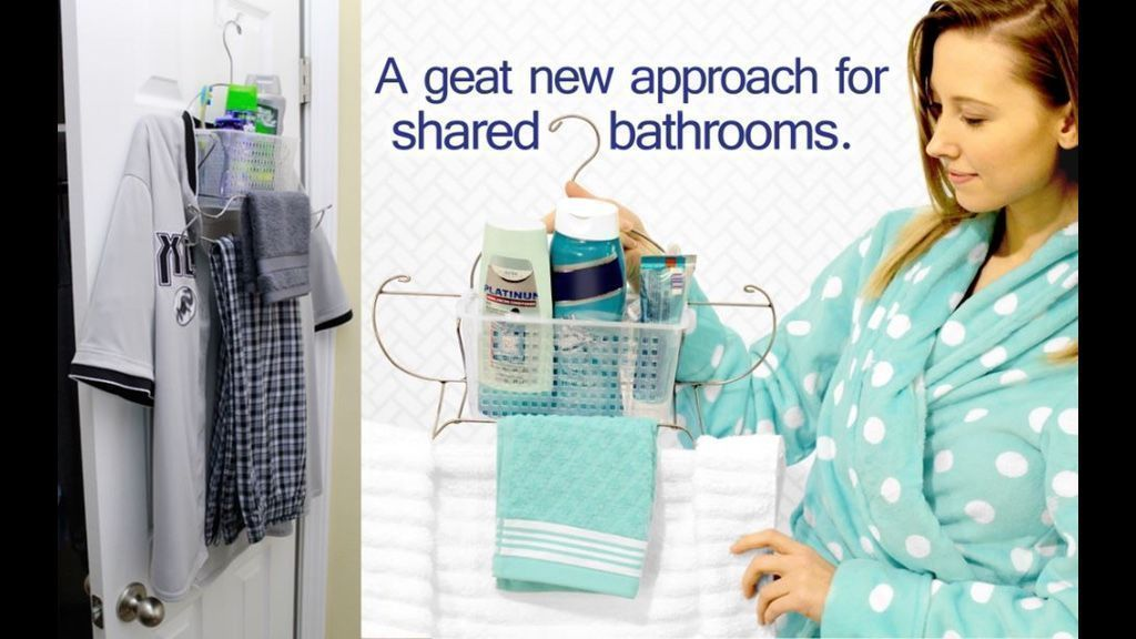 Make sharing the bathroom easier with the great new innovation - Caddy Go Tote!  http:// buff.ly/2rcl8cA  &nbsp;   #bathroom #living #accessories <br>http://pic.twitter.com/aTPbMYuiJZ