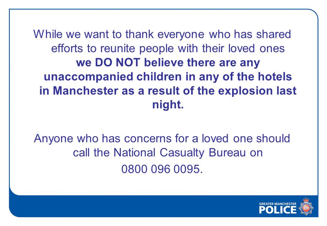 Remember, follow @GMPolice for official updates