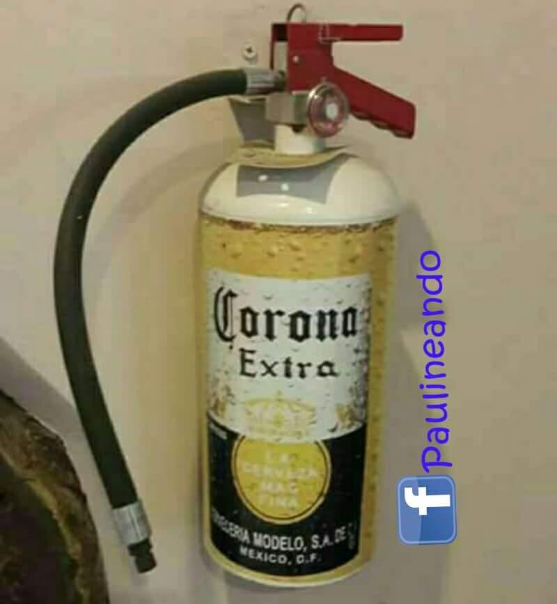 #ConEsteCalor Traigan todos los extintor...