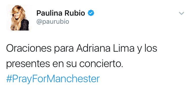 Cuando quieres mostrar empatía con Ariana Grande pero eres Paulina Rubio https://t.co/dO5yuLHVup