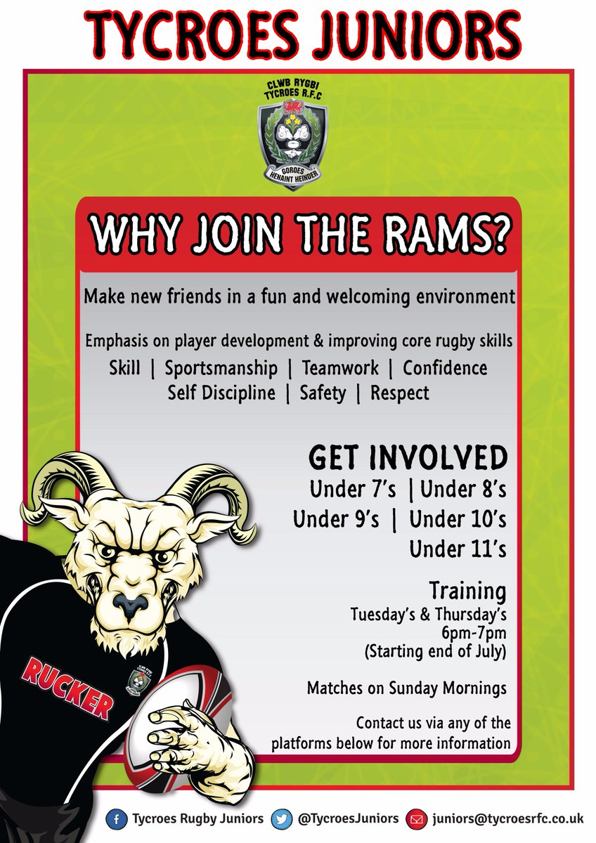 Join our #RugbyFamily #GrassRoots #TheRams<br>http://pic.twitter.com/eKGqy77Wio