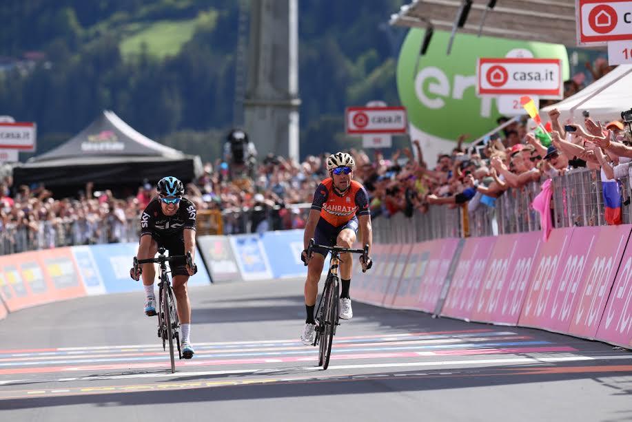 Giro d'Italia, a Bormio trionfa Nibali