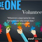 We need volunteers. Are you the ONE?