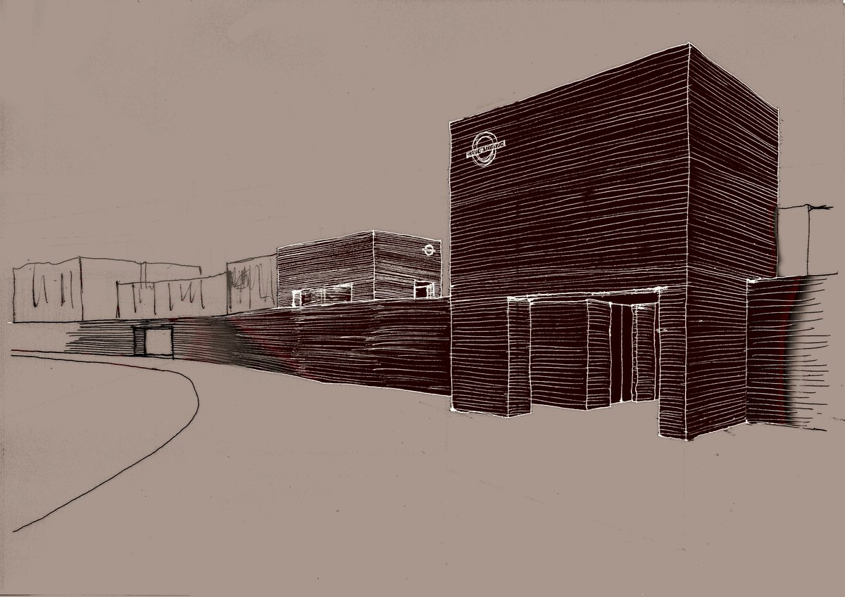 #Presence of public buildings and identity of a place Some other sketches of the station entrances in our proposal  Forest Hill SE23 <br>http://pic.twitter.com/Uwe9NgH4qf