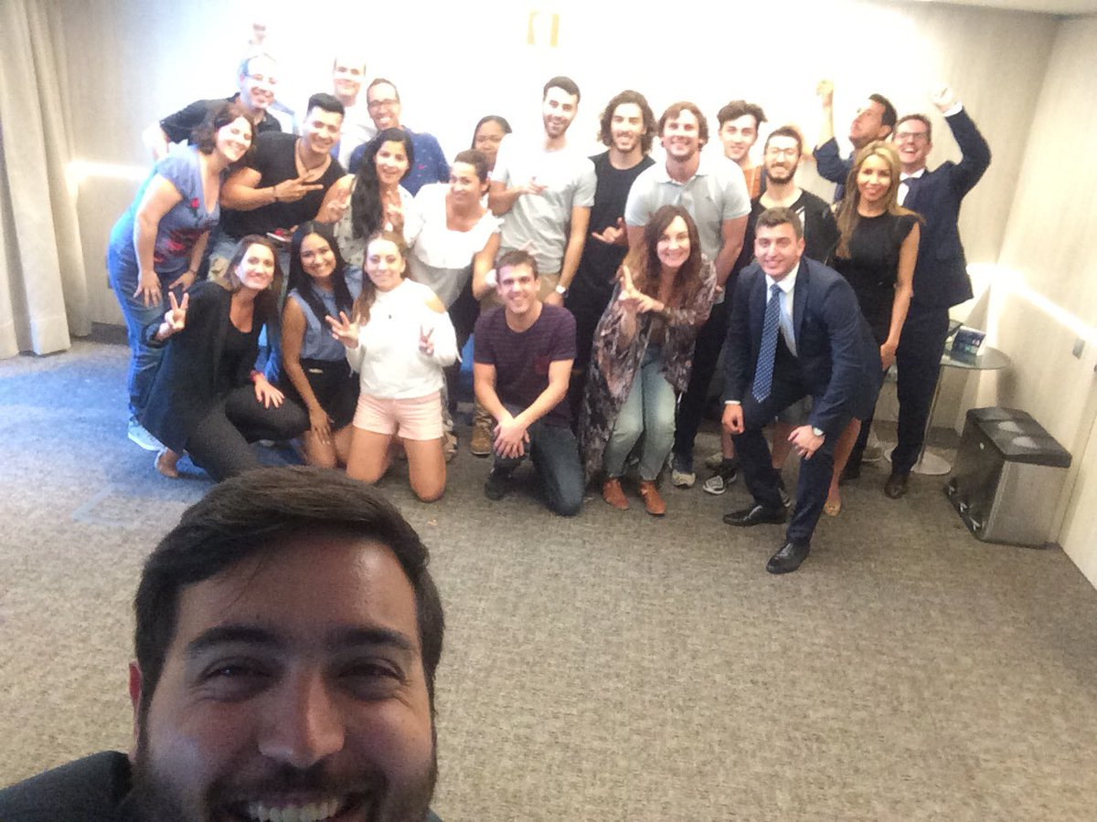 students from a Master in @ostelea visit @MeliaBcnSky #talent #vision #formation @MHICareers<br>http://pic.twitter.com/SKlgcxc0rb