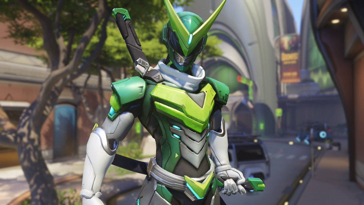 how to get the new genji skin