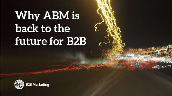 Why has there been such an explosion of interest around #ABM in the last couple of years? https://t.co/DYc8DviyXP https://t.co/UmiKqmGAVa