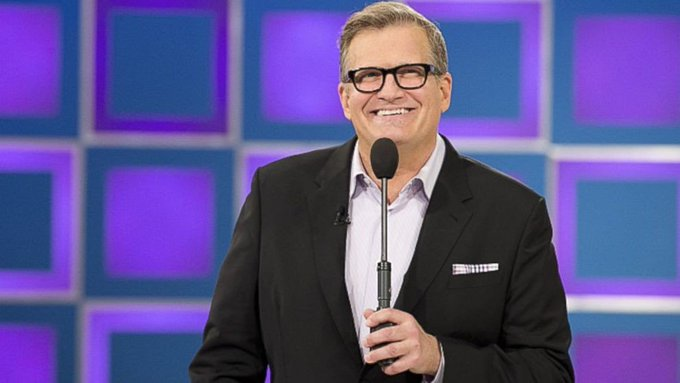 I would like to wish Drew Carey, The Price is Right game show host a Happy Birthday