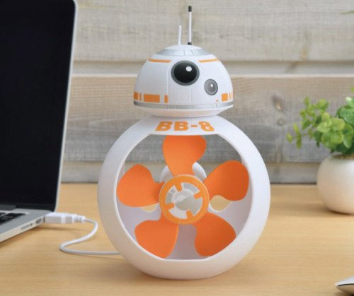 #Geek Awesome of the Day: #StarWars #BB8 #USB Desk Fan via @s3xyg33k81 + @technabob #SamaGeek