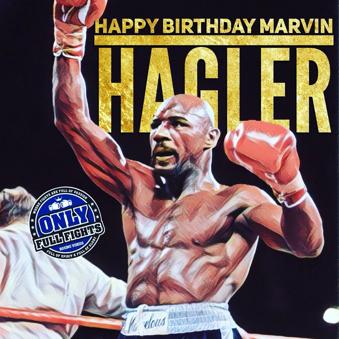 HAPPY BIRTHDAY MARVIN HAGLER