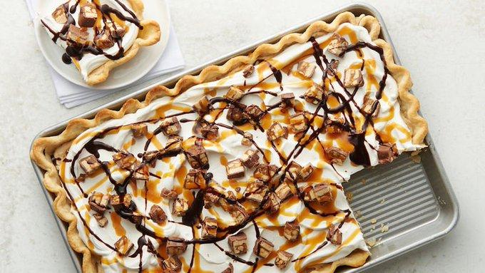 Snickers™ Slab Pie