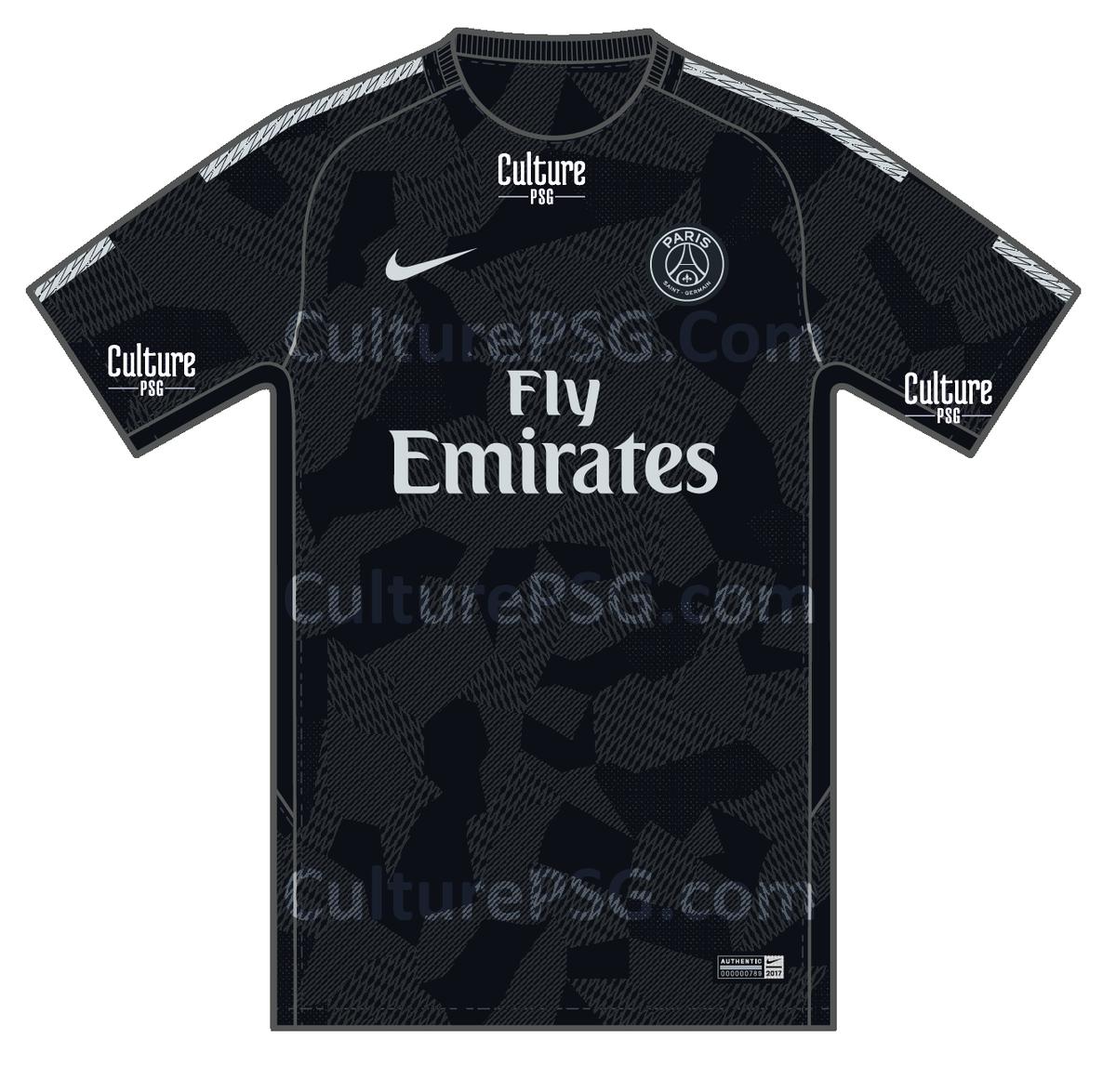 Maillot THIRD PSG nouveau