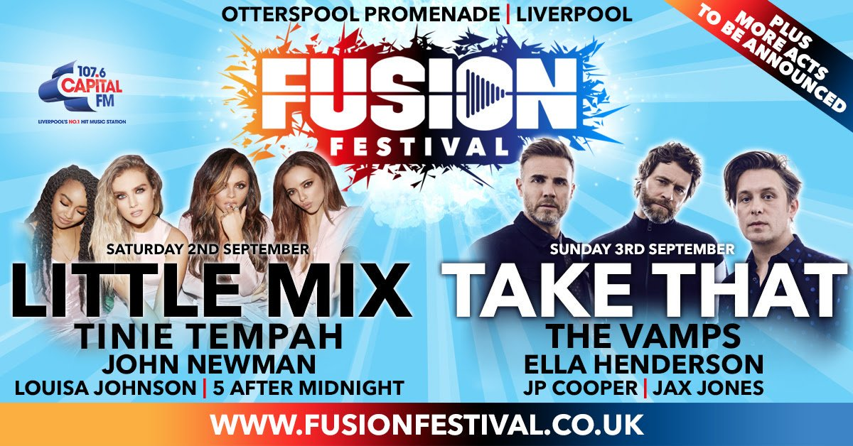 The sale of tickets for @fusionfest have been pushed back to Friday 2nd June with pre-sale will available from 1st June at 9am.