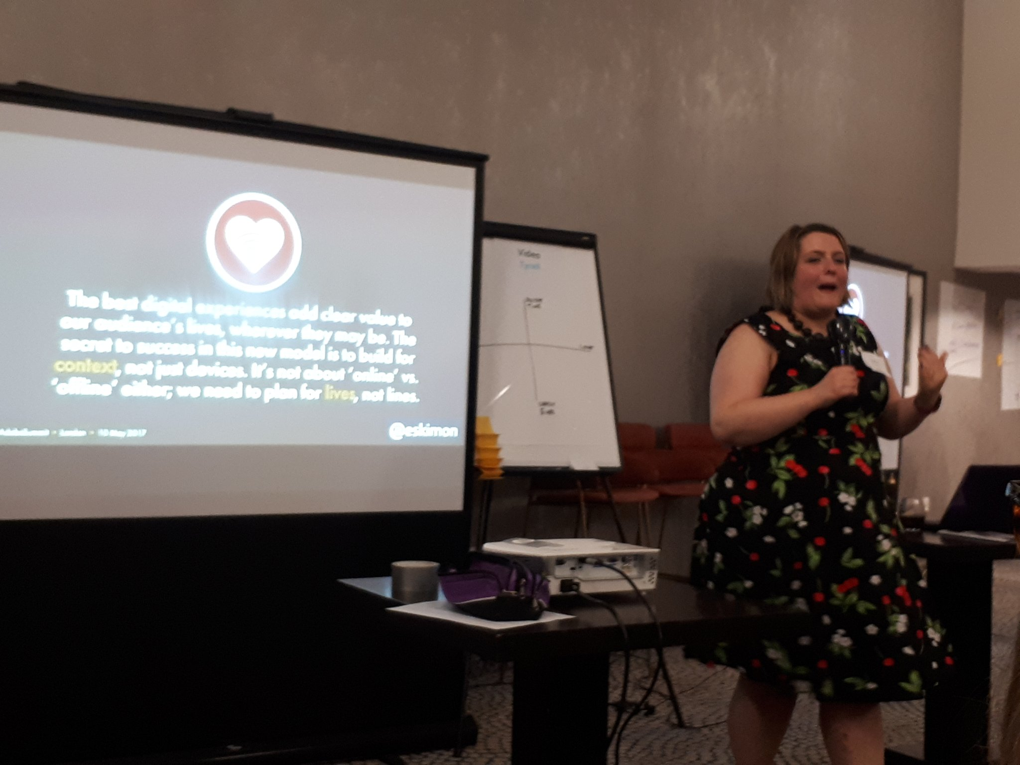 Kicking off #CharityMeetup is @goreckidawn - it's not just about the tools, the shiny new things. https://t.co/BPKLacuKPH