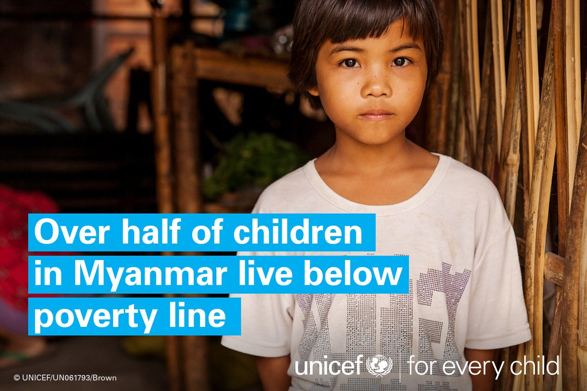Investing in children can help steer #Myanmar towards a more prosperous and stable future #foreverychild  http:// uni.cf/Myanmarchildal ert &nbsp; … <br>http://pic.twitter.com/KSDlbCq6uO