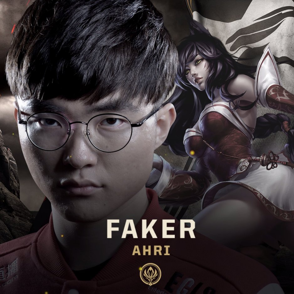 "lolesports on Twitter: ""Take a closer look at Faker's performance on Ahri  from the 2017 Mid-Season Invitational Finals! #MSI2017… """