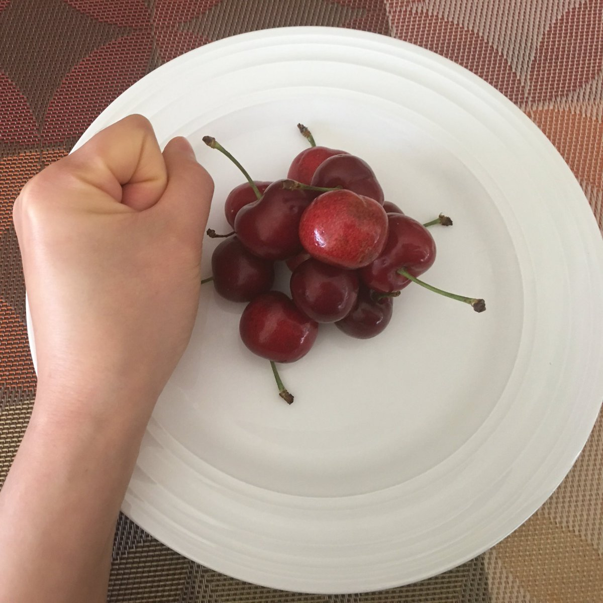Image result for cherries in fist
