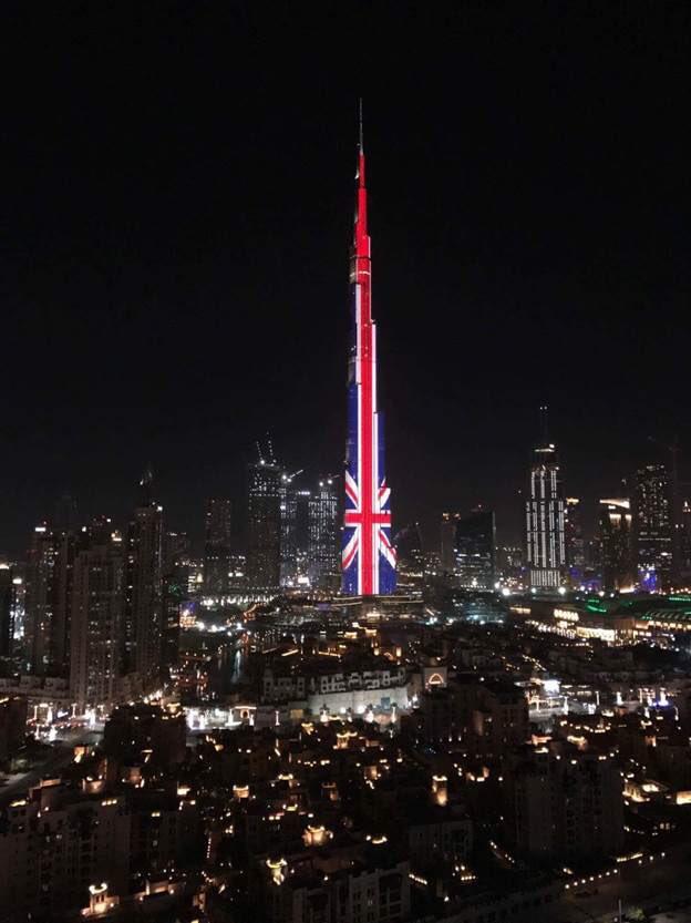 Dubai goes big.  #Manchester
