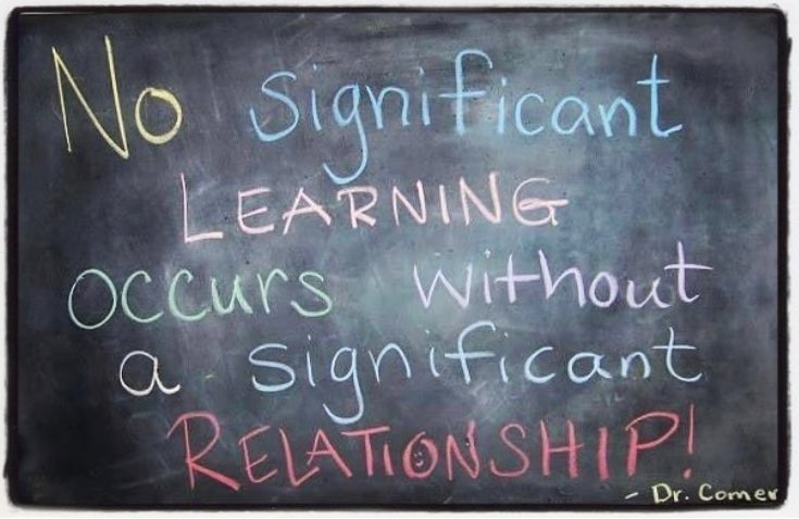 It&#39;s always about relationships. Cultivating relationships with your students leads to an active and engaged classroom. #edchat #teacherlife<br>http://pic.twitter.com/3CxRmNZaYS