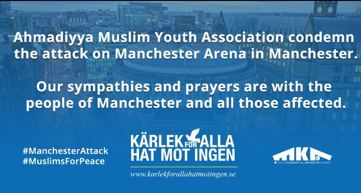 We condemn the attack on #ManchesterArena in #Manchester. Our sympathies and prayers are with all those affected. #ManchesterBombing #svpol <br>http://pic.twitter.com/mYhtPNIOWj