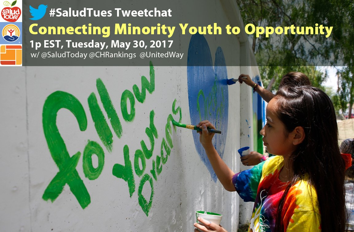 Thumbnail for #SaludTues: Connecting Minority Youth to Opportunity 5-30-17