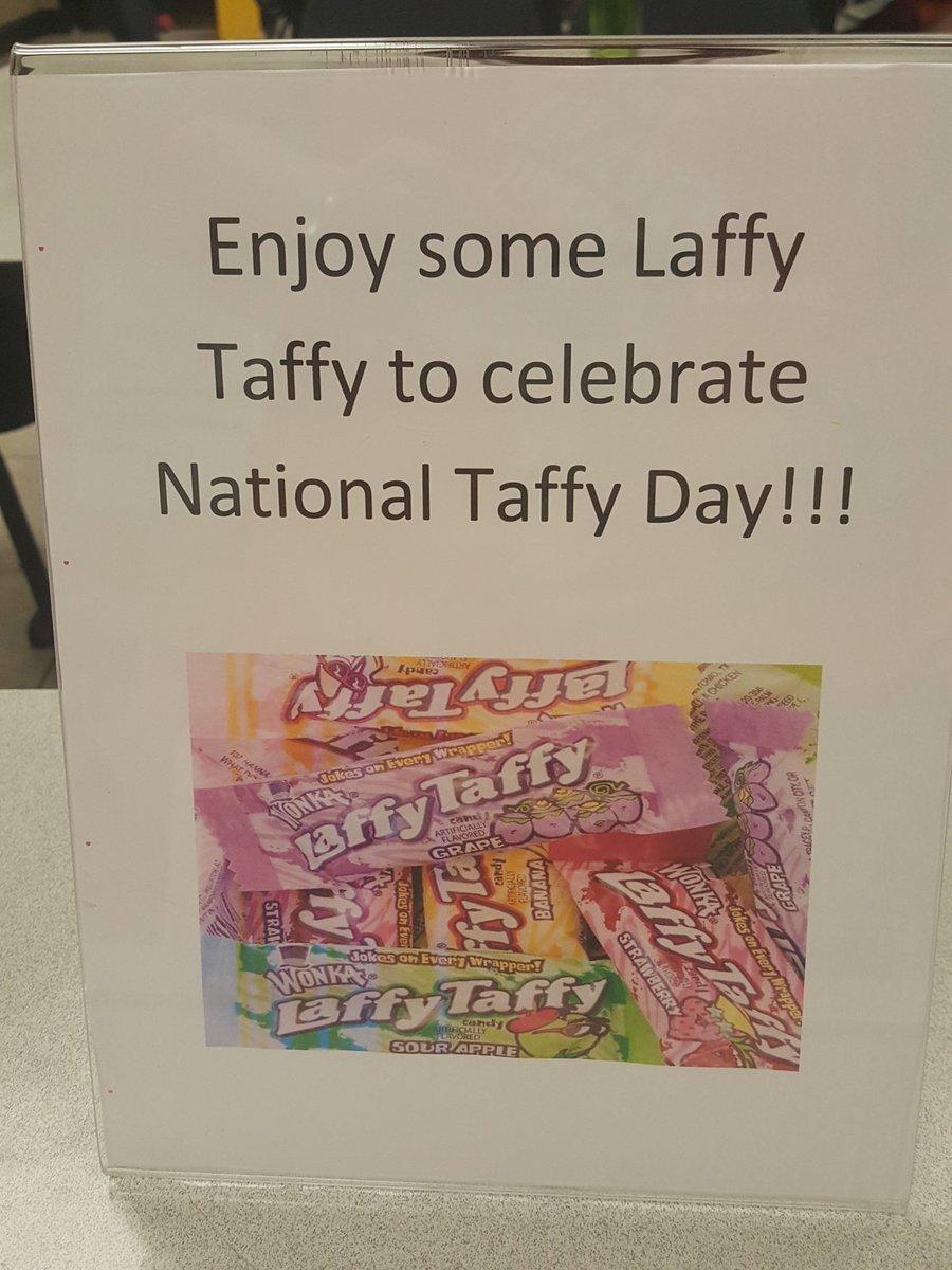 nationaltaffyday hashtag on Twitter