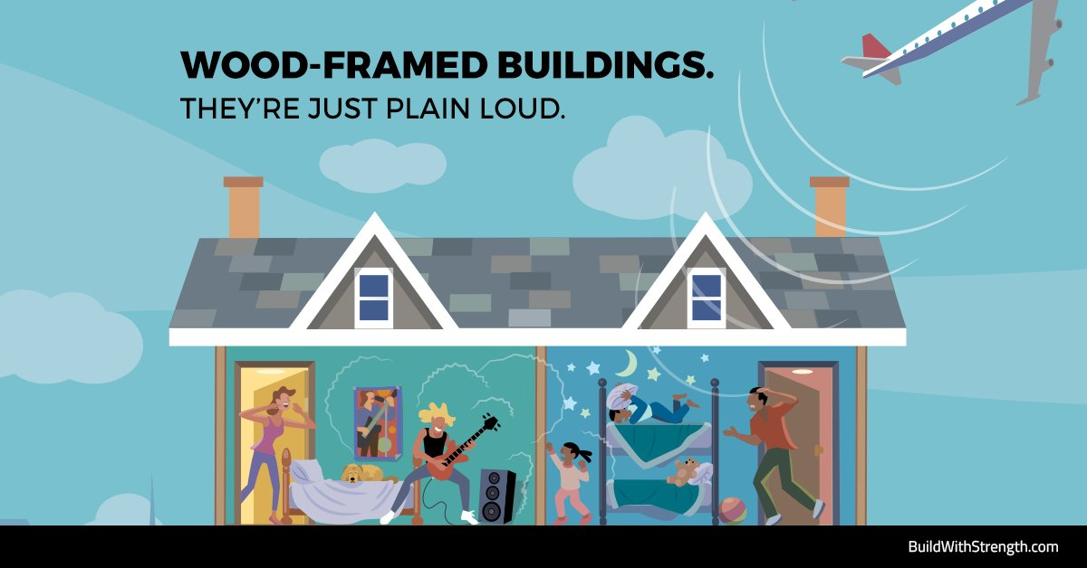 #Wood-framed buildings are loud! Builders are turning to #ICFs to give tenants the peace &amp; quiet they deserve:  http:// bit.ly/2qjd3Cn  &nbsp;  <br>http://pic.twitter.com/9KSw85rLbO