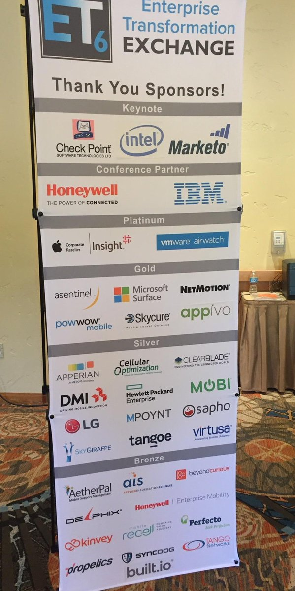 We are so excited to #sponsoring, attending, and presenting at this year&#39;s #ET6! #digitaltransformation<br>http://pic.twitter.com/kruMLPX0nL